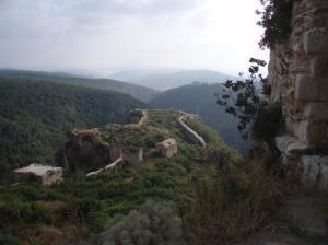 Saladin's Castle in the mountains above Lattakia, Assad's Alawi heartlands [DD]
