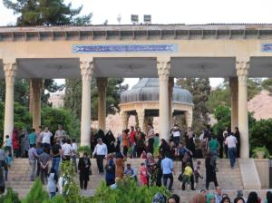 Crowds at the Tomb of Hafez, Shiraz
