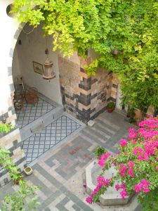 Restored Damascene courtyard house