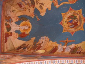 19th century church frescoes in Homs, Church of the Virgin's Belt (Al-Zunnar) [2010, DD]