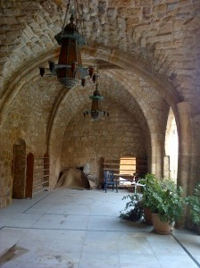 Crusader vaulting in Sidon's Great Mosque [DD, 2014]