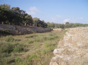 Ancient Phoenician stadium at Amrit, south of Tartous [DD]