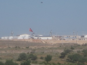 The Syriac refugee camp on a hill outside Midyat [DD, May 2014]