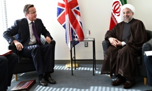 Cameron and Rouhani