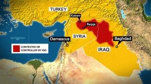 Kobani Map