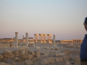 Fading light over Palmyra