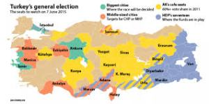 turkey 2015 election map