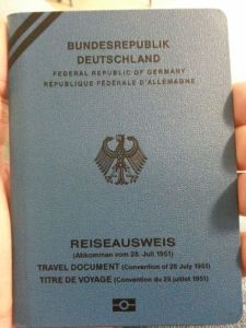 Muhammad Yassin passport Germany