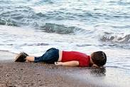Aylan Kurdi drowned on beach Sept 2015
