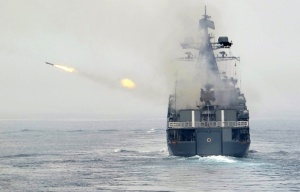 Caspian sea Russian strikes on Syria 7 Oct 2015