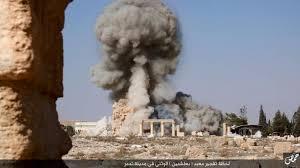 Palmyra Baal Shamin destruction