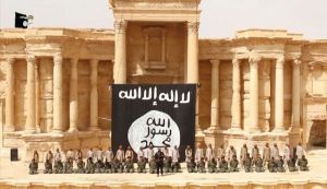 ISIS prepares for beheadings in Palmyra's theatre May 2015