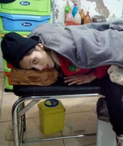 madaya field hospital girl