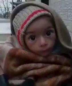 madaya starving child