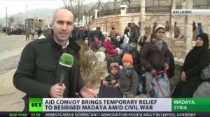 Russian TV in Madaya