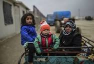 azaz refugees feb 2016