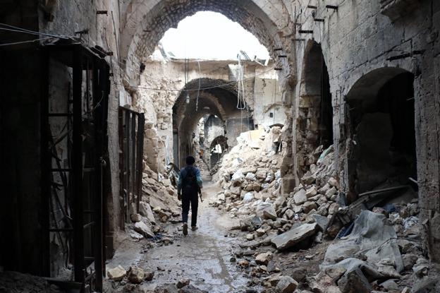 APSA Aleppo-souk-AFPGetty-Feb201