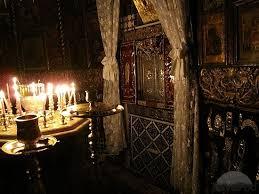 Saydnaya convent, St Luke grotto