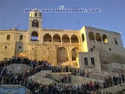 Saydnaya pilgrimage