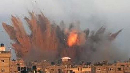 Raqqa bombing August 2017