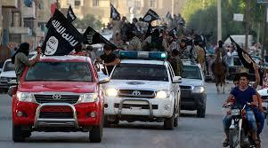 Raqqa ISIS convoy