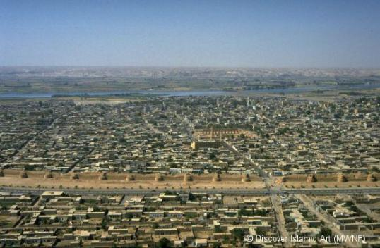 Raqqa Old City overview