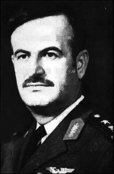 Hafez al-Assad in November 1970 soon after seizing power