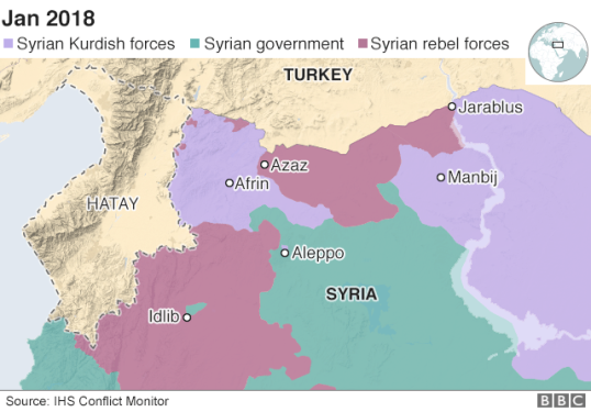 Syria control map source IHS Conflict Monitor