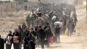 Ghouta evacuation March 2018