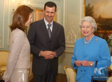 Bashar and the queen
