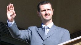 Bashar in father mode