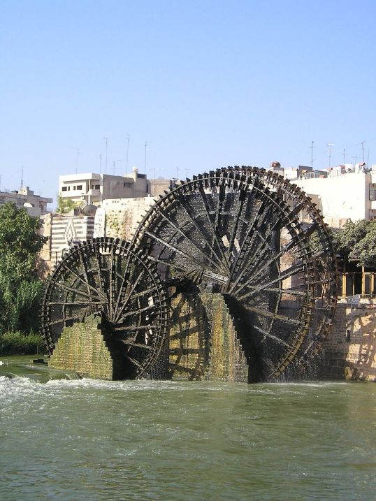 Hama watewheels (Attribution Heretiq, 2005)
