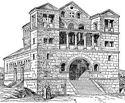 Qalb Lozeh facade