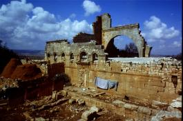 The Church of Bissos, Ruweiha, 6th century [copyright Diana Darke, February 2005]